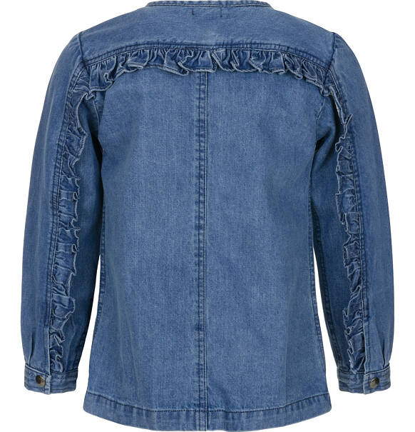 2fecb1592e1ffa Bluza jeansowa dla dziewczynki 3-8 lat | Wiosenne | dla małej | Endo
