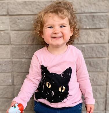 Endo - Bluzka z długim rękawem dla dziewczynki, z kotem, różowa, 2-8 lat D03G196_1 24
