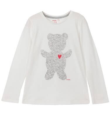Endo - Bluzka z długim rękawem dla dziewczynki 3-8 lat D62G091_1