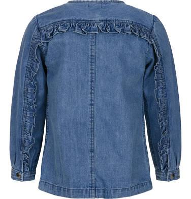 Endo - Bluza jeansowa dla dziewczynki 9-13 lat D91A511_1