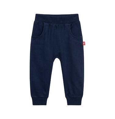 Endo - Spodnie dresowe dla dziecka do 2 lat, granatowe N04K017_2 2