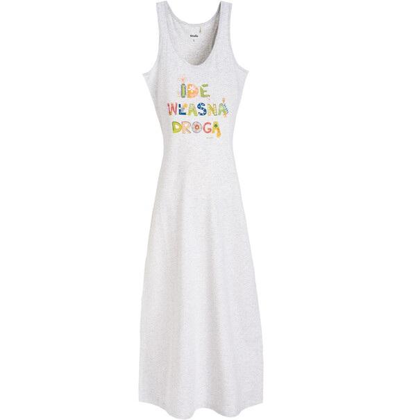9ba66e651c Endo - Długa sukienka damska na ramiączkach Y61H003 1. ‹ ›
