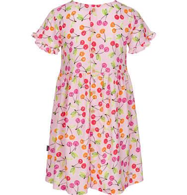 Endo - Sukienka z krótkim rękawem dla dziewczynki 3-8 lat D91H023_1,2