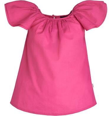 Endo - Batystowa bluzka z krótkim rękawem dla dziewczynki 3-8 lat D81G108_1