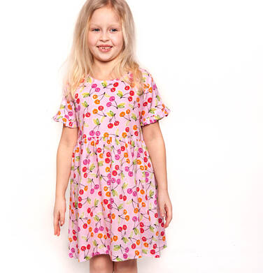 Endo - Sukienka z krótkim rękawem dla dziewczynki 9-13 lat D91H523_1