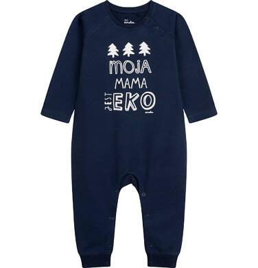 Endo - Pajac dla dziecka do 2 lat, granatowy N04N007_1 14
