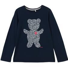 Endo - Bluzka z długim rękawem dla dziewczynki 9-12 lat D62G591_2