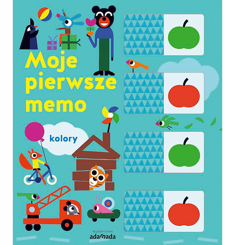 Endo - Moje pierwsze memo. Kolory, Julie Mercier, Adamada BK04269_1