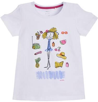 Endo - T-shirt z krótkim rękawem dla dziewczynki 9-13 lat D81G617_1