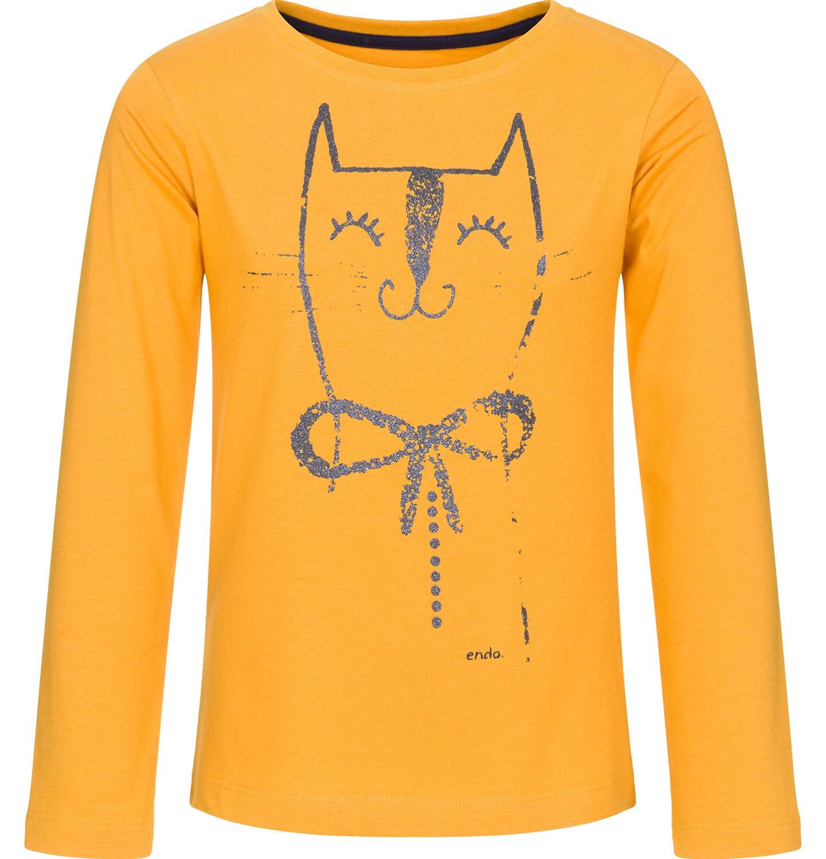 Endo - T-shirt z długim rękawem dla dziewczynki 3-8 lat D92G024_1