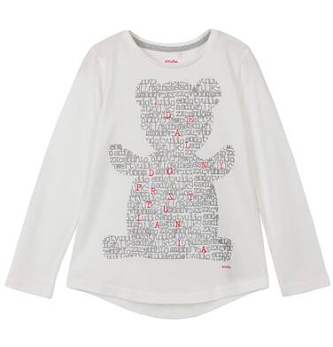 Endo - Bluzka z długim rękawem dla dziewczynki 3-8 lat D62G092_1