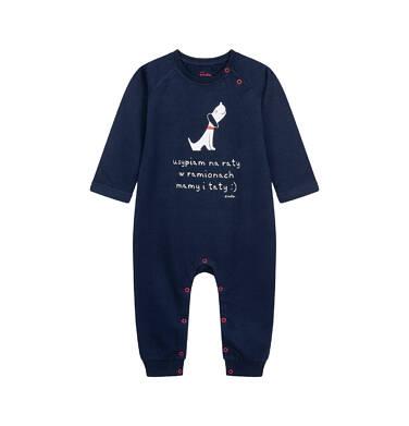 Endo - Pajac dla dziecka do 2 lat, granatowy N04N015_1 3