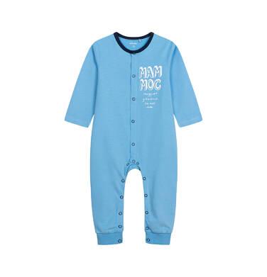 Endo - Pajac dla dziecka do 2 lat, z napisem, niebieski N05N025_3 21