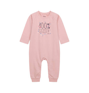 Endo - Pajac dla dziecka do 2 lat, różowy N04N018_1 25