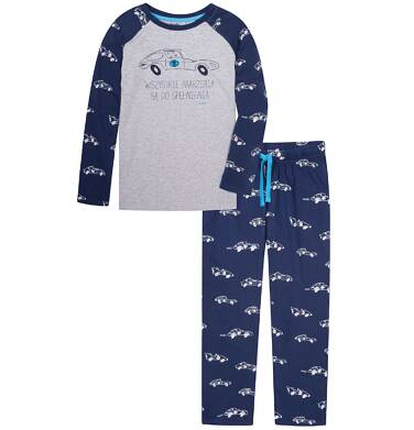 Piżama z długimi spodniami dla chłopca 3-8 lat C72V006_1