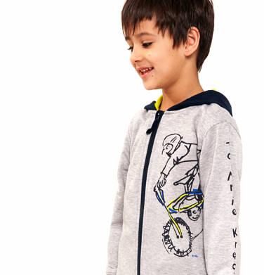 Endo - Bluza rozpinana z kapturem dla chłopca 9-13 lat C91C505_1