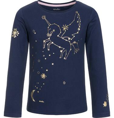 Endo - Bluzka z długim rękawem dla dziewczynki 9-13 lat D92G585_1