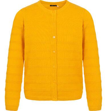 Endo - Sweter dla dziewczynki, rozpinany, żółty, 9-13 lat D04B009_1 25