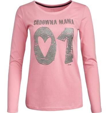 """Endo - """"Cudowna mama"""" Bluzka damska z długim rekawem Y82G003_1"""