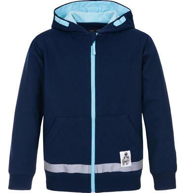 Bluza rozpinana z kapturem dla chłopca 3-8 lat C91C016_1
