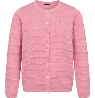 Endo - Sweter dla dziewczynki, rozpinany, różowy, 9-13 lat D04B009_2 3