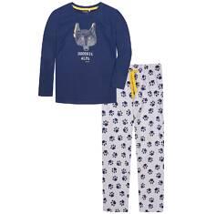 Endo - Piżama z długimi spodniami dla chłopca 3-8 lat C72V007_1