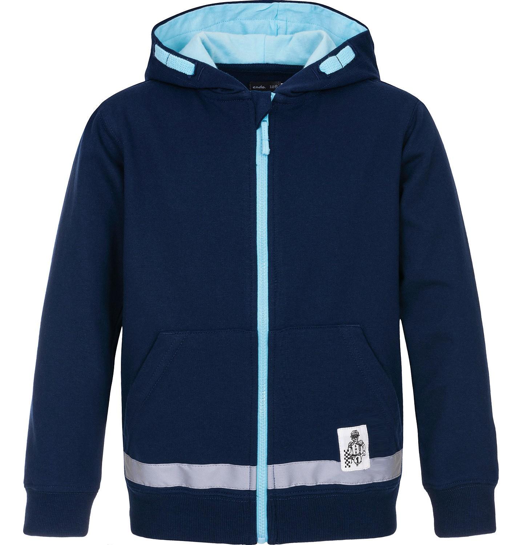 Endo - Bluza rozpinana z kapturem dla chłopca 9-13 lat C91C516_1