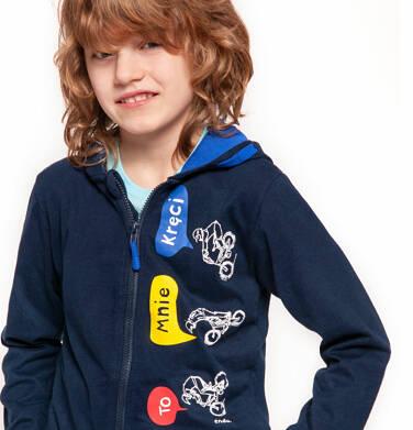 Endo - Bluza rozpinana z kapturem dla chłopca 3-8 lat C91C020_1
