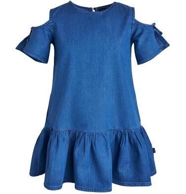 Endo - Sukienka dżinsowa dla dziewczynki 3-8 lat D81H017_1