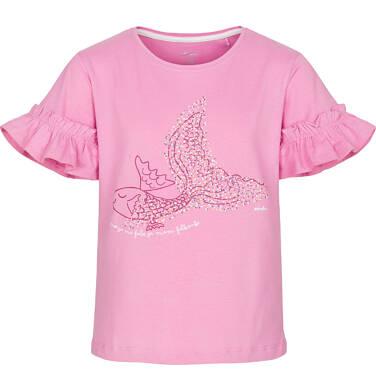 Bluzka z krótkim rękawem dla dziewczynki 3-8 lat D91G125_1