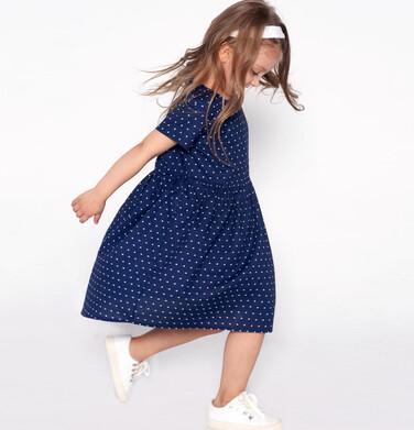 Sukienka z krótkim rękawem dla dziewczynki 3-8 lat D81H053_1