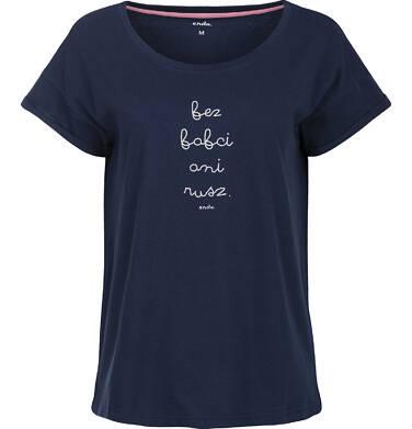 """Endo - """"Bez babci ani rusz"""" T-shirt damski z krótkim rękawem Y82G009_1"""