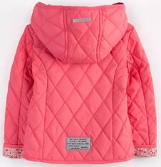Pikowana kurtka z kapturem dla dziewczynki 2-3 lata N71A010_1