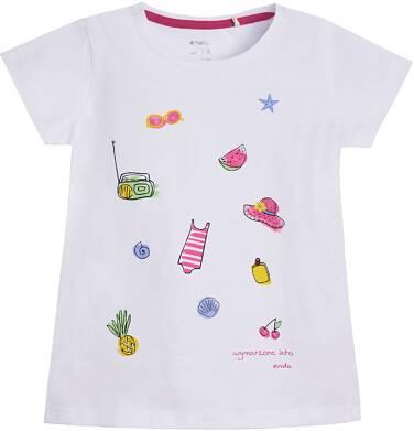 Endo - T-shirt z krótkim rękawem dla dziewczynki 9-13 lat D81G624_1