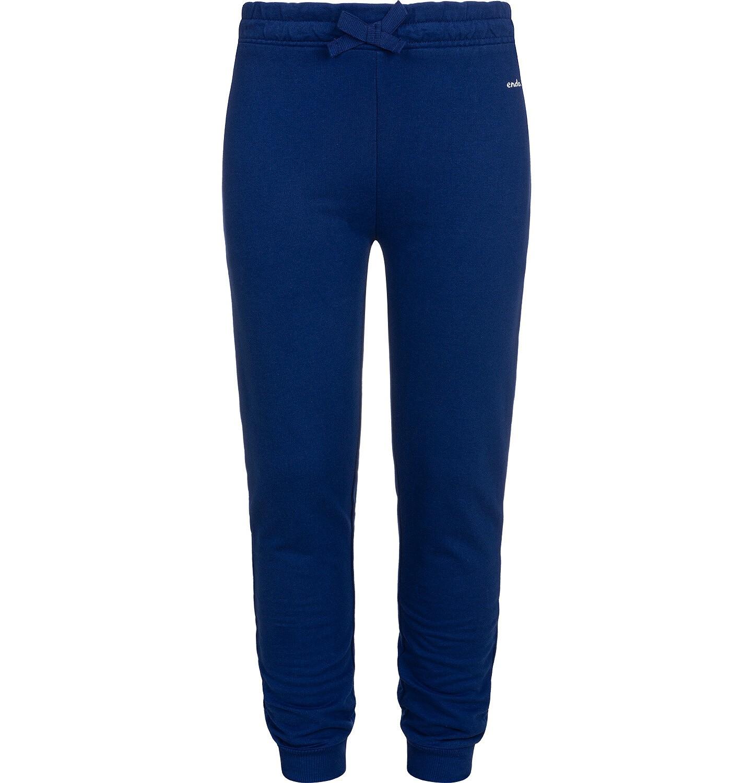 Endo - Spodnie dresowe dla dziewczynki, granatowe, 2-8 lat D05K027_1
