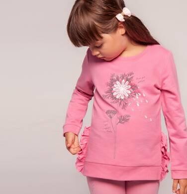 """""""Lecę jak płatek"""" Bluza z długim rękawem dla dziewczynki 3-8 lat D82C009_1"""
