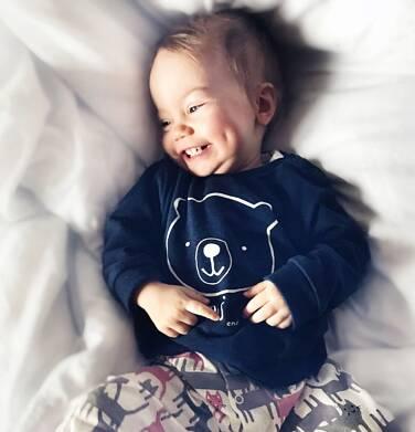 Endo - Bluza dla dziecka do 2 lat, granatowa N04C028_1 20