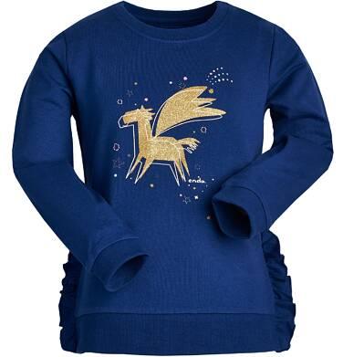 Endo - Bluza z długim rękawem dla dziewczynki 3-8 lat D82C019_1
