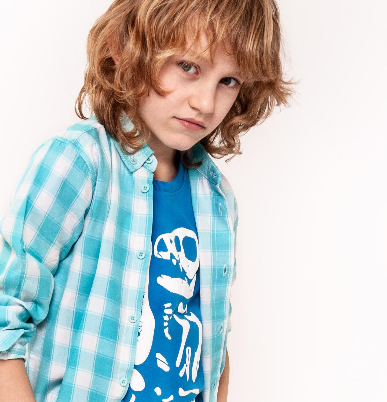 Endo - Koszula z długim rękawem dla chłopca 9-13 lat C91F502_1