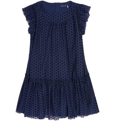 Endo - Tiulowa sukienka w groszki dla dziewczynki 9-13 lat D72H539_1
