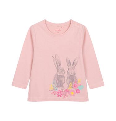 Endo - Bluzka dla dziecka do 2 lat, różowa N04G063_1 31