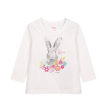 Endo - Bluzka dla dziecka do 2 lat, kremowa N04G064_1 247