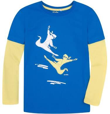 Endo - Koszulka z długimi, odcinanymi rękawami dla chłopca 3-8 lat C72G087_1