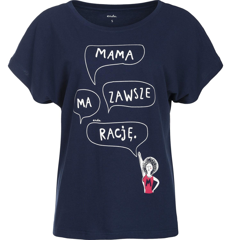 """Endo - """"Mama ma zawsze rację"""" Bluzka kimono damska Y82G013_1"""