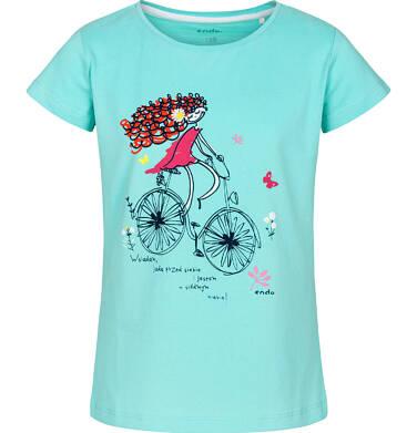 Endo - T-shirt z krótkim rękawem dla dziewczynki 3-8 lat D91G138_1