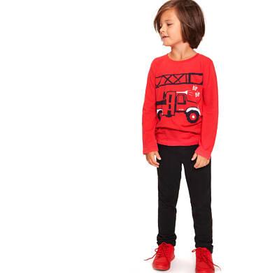 Endo - Chinosy dla chłopca, czarne, 3-8 lat C92K008_1
