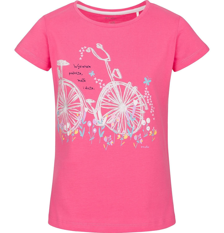 Endo - T-shirt z krótkim rękawem dla dziewczynki 3-8 lat D91G139_1