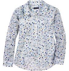 Koszula w kwiecisty deseń dla dziewczynki D61F004_1