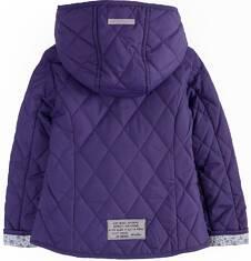 Pikowana kurtka z kapturem dla dziewczynki 2-3 lata N71A010_2