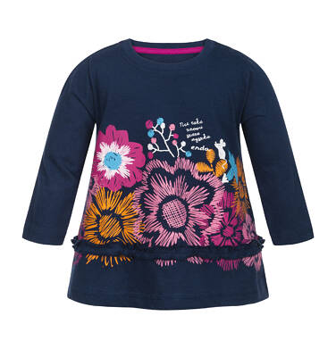 Endo - T-shirt z długim rękawem dla dziecka 0-3 lata N82G025_1